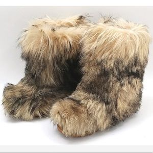 LOTTO Skywalk Brown Fur Boots